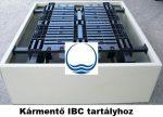 2. - PP./PE. műanyag kármentő, 1 palettás - 1000 L-es IBC tartályhoz