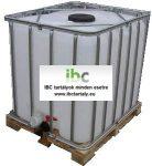 2.1. - Felújított, IBC, ADR / UN, 1000 L-es tartály / konténer