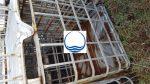 3. <> Csökkent minőségű rács és raklap 1000 literes IBC tartályhoz