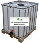 3.2 - IBC, tiszta, általános IPARI felhasználásra, 1000 L-es tartály