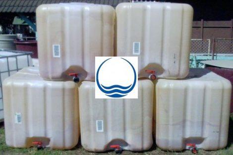 1.<> Használt IBC ballon, 1000 liter, minőség csökkent
