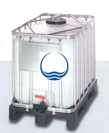 1.4. <> 640 liter, Felújított, IBC, ADR/UN tartály / konténer