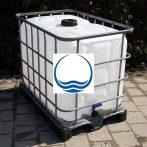 1.8. <> 640 liter használt, tiszta IBC, általános IPARI felhasználásra, I. osztály, tartály;