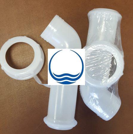 3.1.  <>IBC kifolyó csonk / pipa DN 50 - fehér - használt