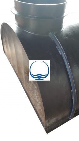 3.5. - 6,3 m3-es PEE műanyag - fekvő - esővíz gyűjtő tartály