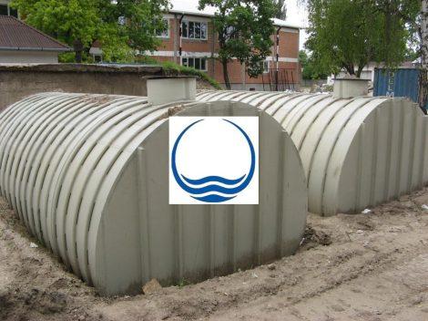 10 m3-es PPW/PEW - műanyag ivóvíz tároló tartály