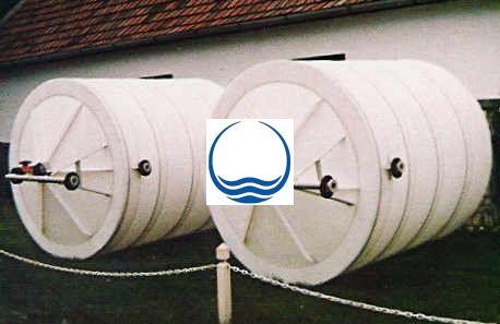 2 m3-es PPW/PEW - műanyag ivóvíz tároló tartály