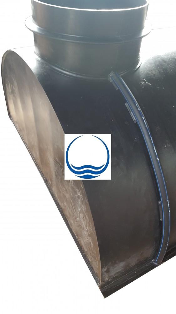 2.4. - 4,2 m3-es PEE műanyag - fekvő - esővíz gyűjtő tartály