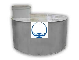 2,5 m3-es PPSZ/PESZ műanyag szennyvíz gyűjtő tartály