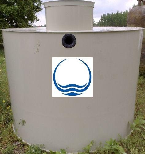 2,5 m3-es PPW/PEW - műanyag ivóvíz tároló tartály
