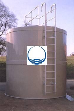 7 m3-es PPW/PEW - műanyag ivóvíz tároló tartály