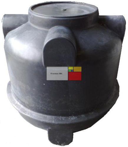 UNITANK SZÁM 1250 - erősített - mászható szennyvíz átemelő akna, lépésálló tetővel