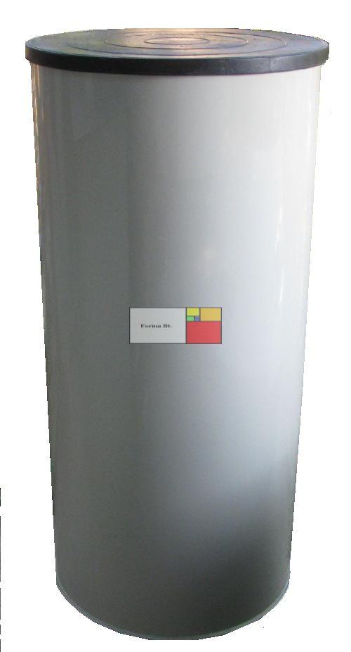UNITANK SZÁ 470 Hegesztett PP. - Nem mászható műanyag szennyvíz átemelő akna, lépésálló tetővel, 2 db csatlakozó tömítéssel